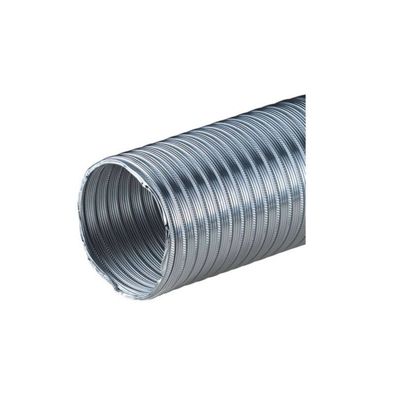 Félmerev aluminium csõ AF100mm/1m