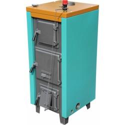 Termomax 22 vegyestüzelésű kazán szigeteléssel és huzatszabályzóval
