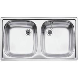 Blacotop ED 8X4  két medencés mosogató tálca